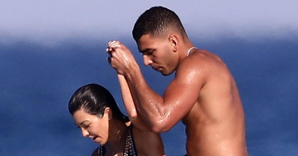 Kourtney Kardashian and Younes Bendjima are currently living it up in France: