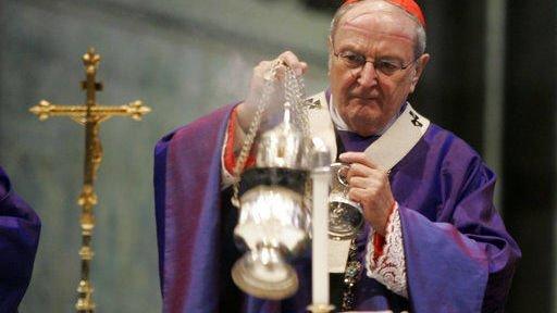 Joachim Meisner, retired Cologne archbishop, dies at 83