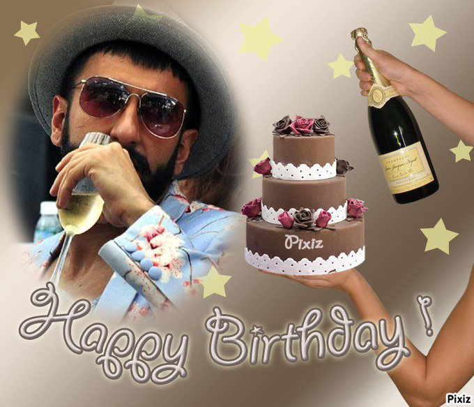 Happy Birthday Prince of Bollywood  Happy Birthday Ranveer Singh