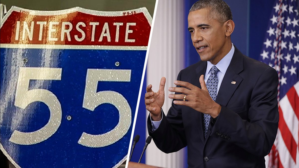 "Coming soon to Illinois: the ""Barack Obama Presidential Expressway"" via @NBCChicago"