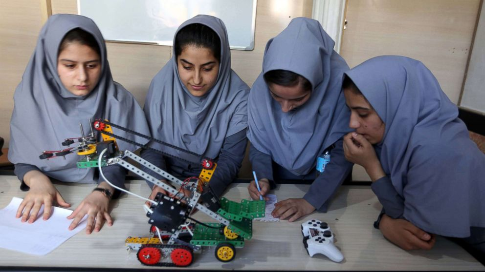 Afghan girls robotics team denied US visas to attend competition in Washington, DC