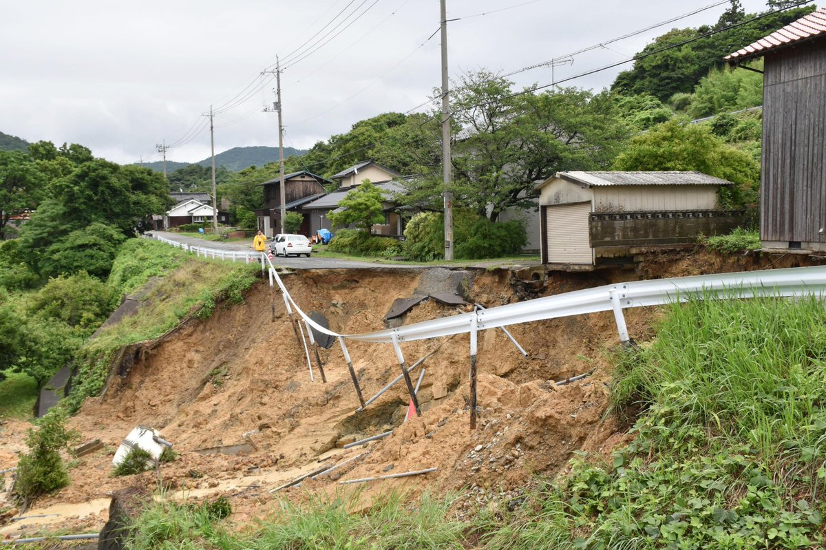 Man dies in Hiroshima Prefecture, children missing in Fukuoka after heavy rain hits west