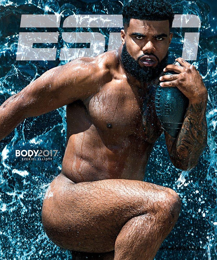 Similar situation. Naked athletes