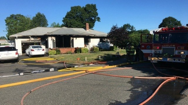 Air conditioner caused triple fatal fire in western Massachusetts, officials say