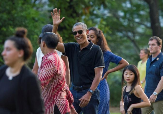 'He was a clever boy': Obama returns to Indonesia for a family vacation.