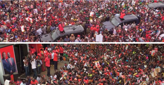 William Ruto shouted down in Tharaka Nithi