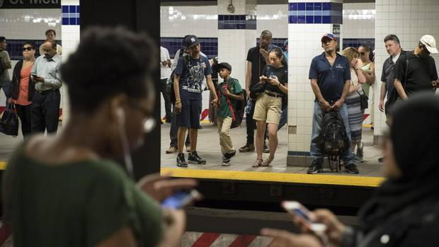 Globe in New York: In New York City's subway system, a summer of From @jslaternyc