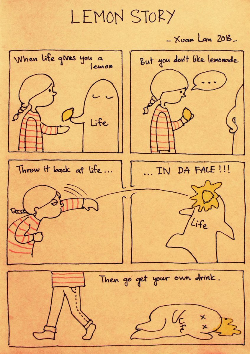 When life gives you a lemon... https://t.co/Y5f6HwBRtr https://t.co/eIiluXyWKv