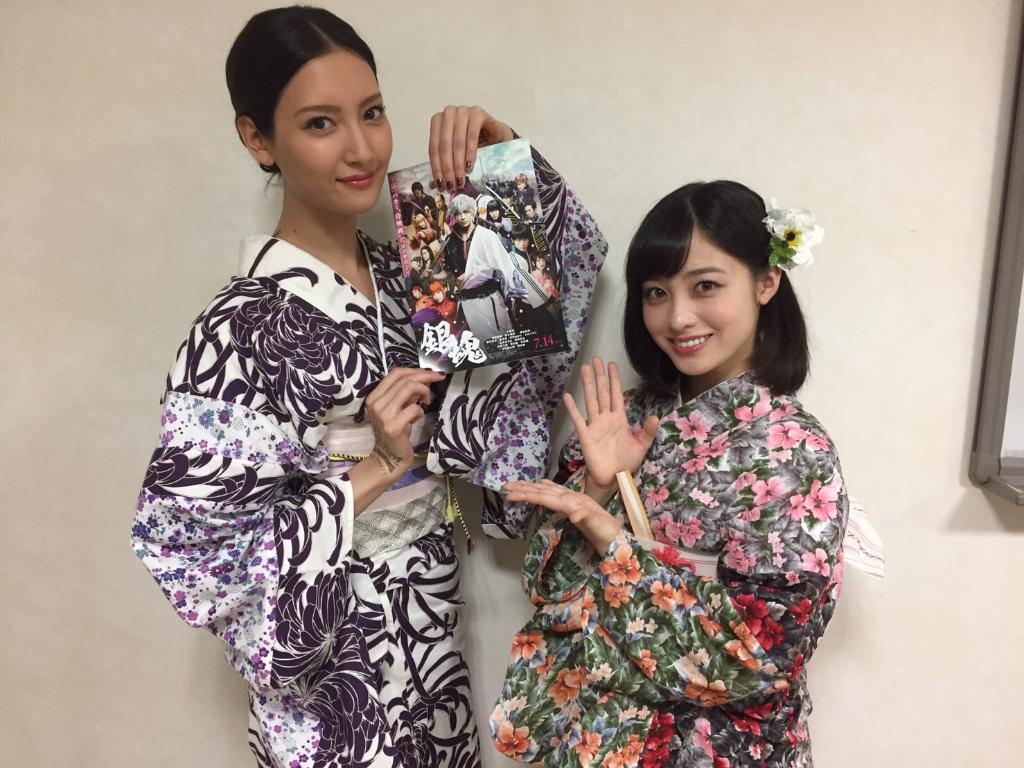 \おすすめアーカイブ😘/#ラインライブ に生出演した橋本環奈ちゃんから写真が到着📸💕映画『銀魂』ジャパンプレミア直後の舞