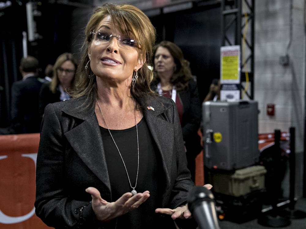 Sarah Palin sues New York Times for defamation over editorial on mass shooting