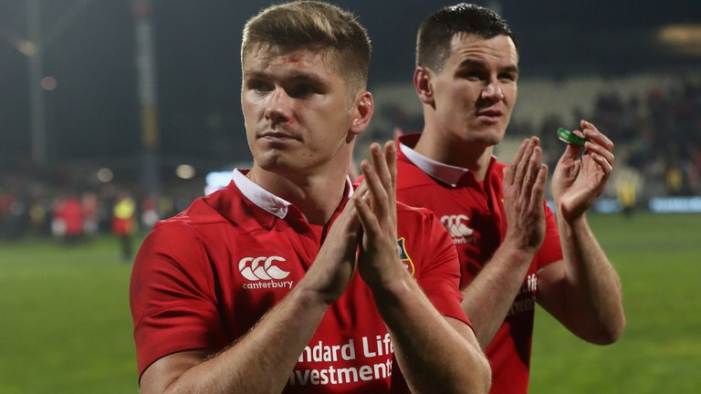 test Twitter Media - Jonny Wilkinson feels the Lions should stick with Owen Farrell over Johnny Sexton https://t.co/fDKBLR6msb https://t.co/6sulrHgEfg