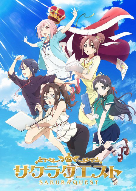 TVアニメ『サクラクエスト』第2クールに向けた新キービジュアル公開。7月2日にAT-X&ニコニコ生放送で第1話~13話の