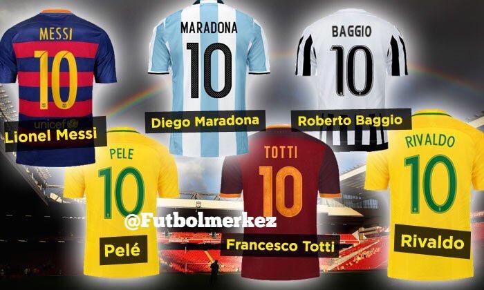 RT @Futbolmerkez: ✏️ Favori 10 numaranız kim? https://t.co/1llB2mJySp