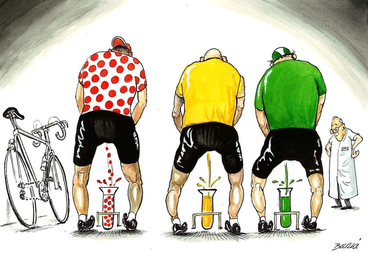 C 39 est bient t le tour de france dessin de burki - Dessin cycliste humoristique ...