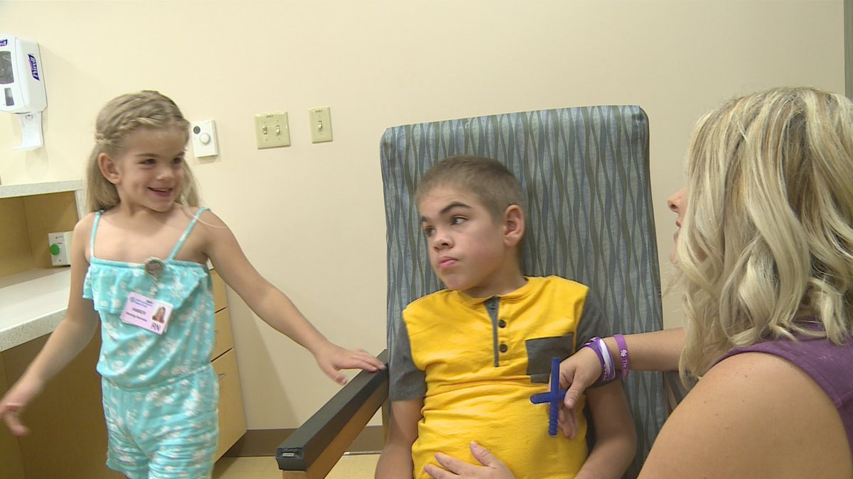 Siblings fight rare genetic disorder
