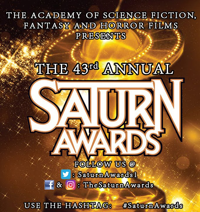 TODAY IS THE #SATURNAWARDS!!  Starting at 6:00pm PST You Can Catch Live Updates Via Our Facebook, Twitter, and Instagram. https://t.co/Uy1jM6gweT