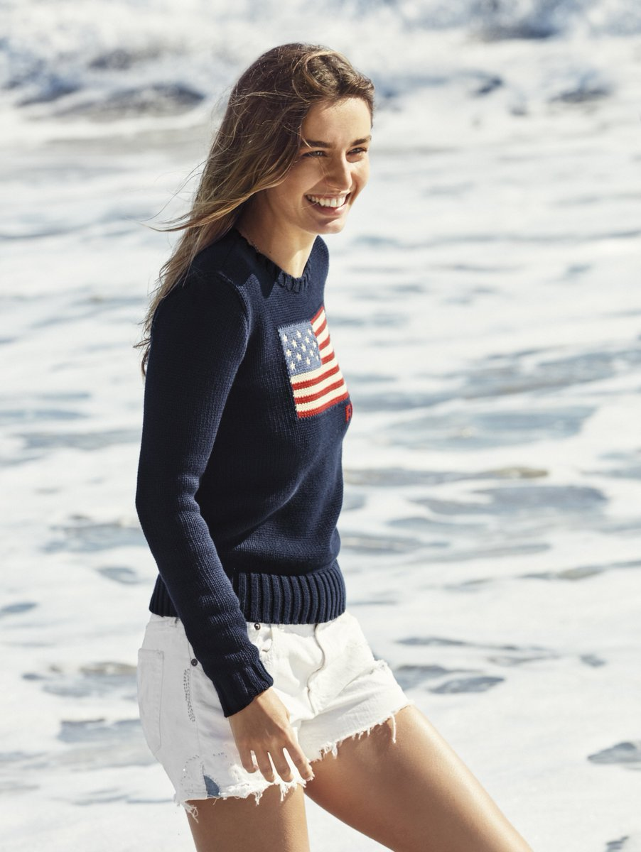 The American Flag Sweater: An iconic #Polo style and one of summer's most effortless layers. https://t.co/NoDQP8PKxY https://t.co/pfZg9F4SWW