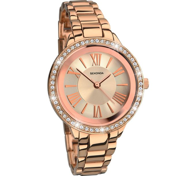 Giveaway: Sekonda Rose Gold Bracelet Watch