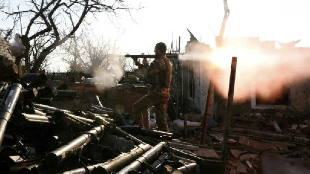 Ukraine says Russian soldier killed in clashes in east