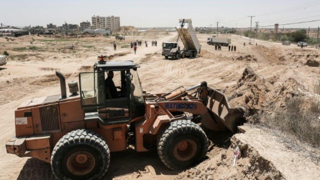 Hamas building Gaza buffer zone as it seeks improved Egypt ties