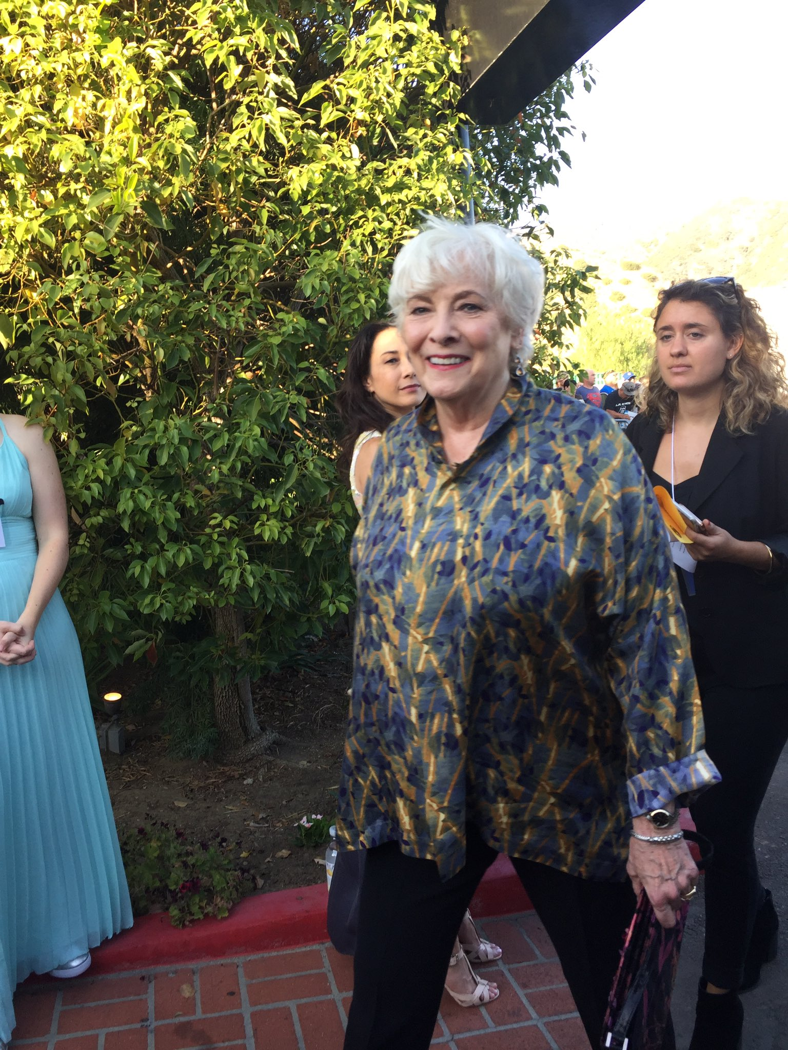 We just got #BettyBuckley here at the #SaturnAwards!! https://t.co/9tL0IzECwS