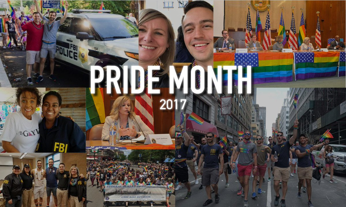 This month, the FBI was proud to celebrate #PrideMonth with our colleagues & in our communities across the country.