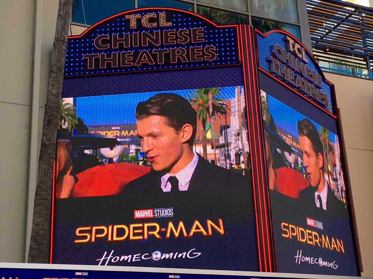 RT rljourno: #SpiderManHomecoming star Tom Holland has arrived and making his way down red carpet https://t.co/0rUhjaY0Xp