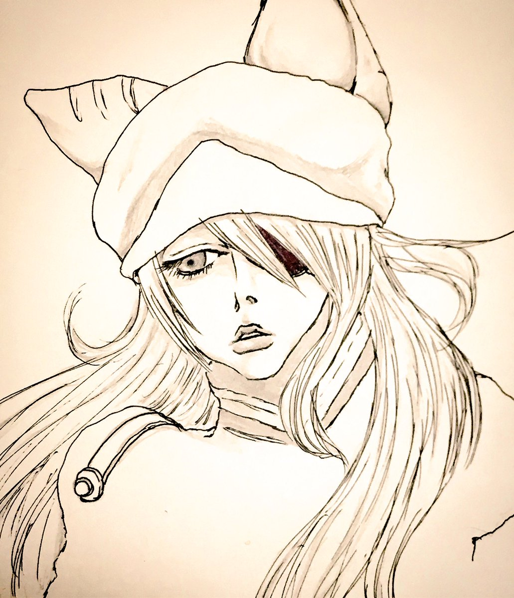エヴァンゲリオンのアスカさんお絵描いた。