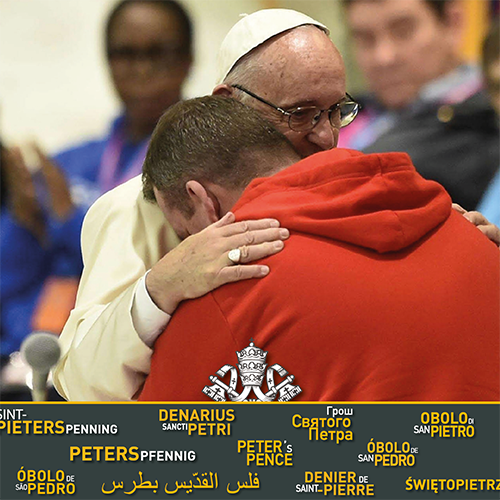 """test Twitter Media - """"Sharing is the true way to love""""   Read more from #PopeFrancis and support Peter's Pence! https://t.co/Dv5TXBfFrB @Obolus_en https://t.co/a99GhhnBt2"""