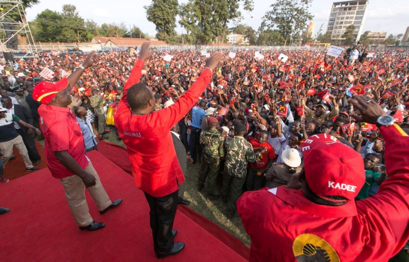 President Kenyatta rallies Jubilee-stronghold of Tharaka Nithi for August 8