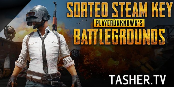 Sorteo de una key de PUBG (PLAYERUNKNOWN'S BATTLEGROUNDS)