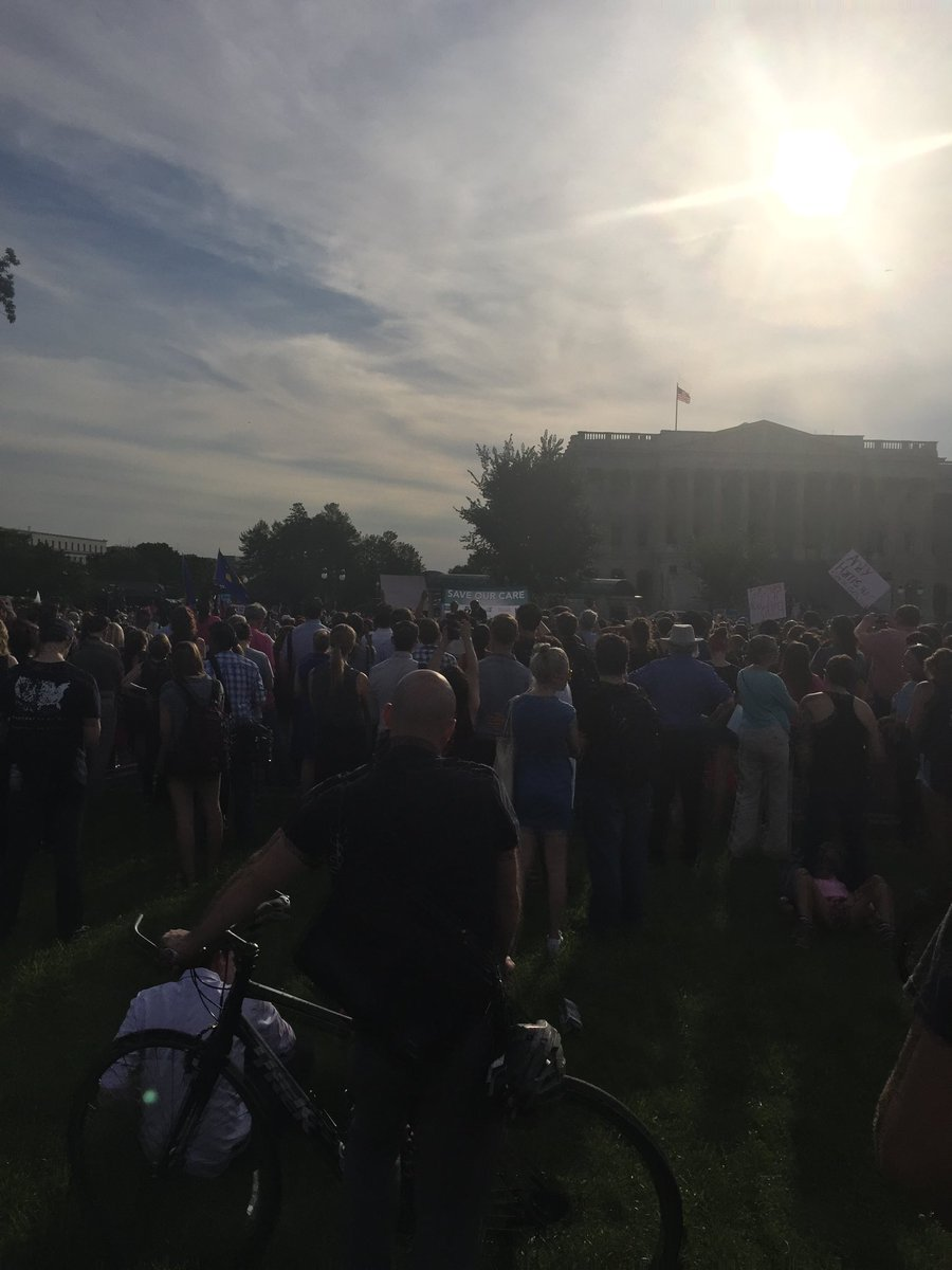 test Twitter Media - The rally to save healthcare at the US Capitol. Kudos to Dr Antonio Nicolas Puente for representing his patients! https://t.co/iybZmj8N0E