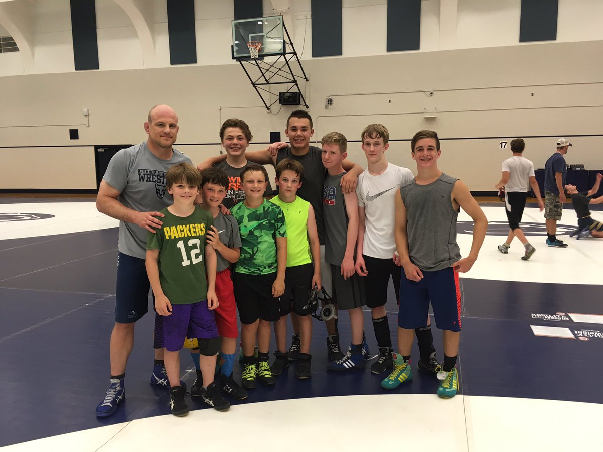 test Twitter Media - Great experience for YMS & YHS wrestlers currently at Penn State camp; pictured with US Olympic Champ and Penn State Coach Cael Sanderson! https://t.co/wiHQxfvZRo
