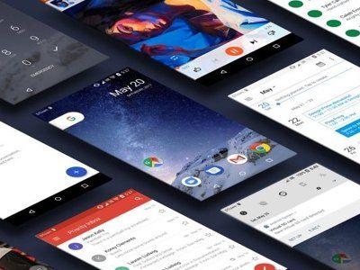 Android O UI Kit   Ui kit by ayale99 freebie