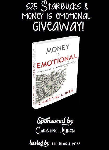Money is Emotional  Book and $25 Starbucks Gift Card Giveaway Event