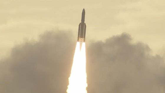 Inmarsat's European short-haul wifi spacecraft launches