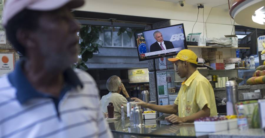 Brazilians Are Too Weary of Scandal to Protest Their Graft-Tinged Leader