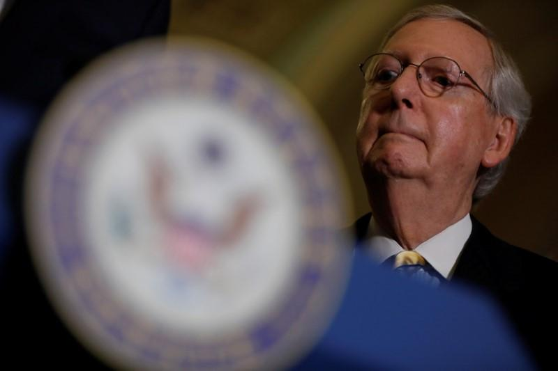 Senate Republicans struggle to salvage healthcare effort