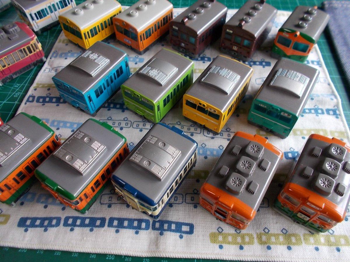 タカラで発売された入浴剤チョロQ「電車物語シリーズ」鉄道系チョロQというとタイヤの存在感が苦手なのですが、このシリーズは