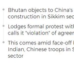 Amid India-China Standoff, Bhutan Protests Road Building In Sikkim Sector