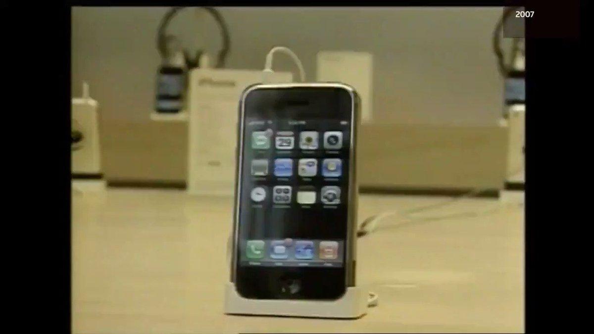 Apple's iPhone turns 10 Via @ReutersTV