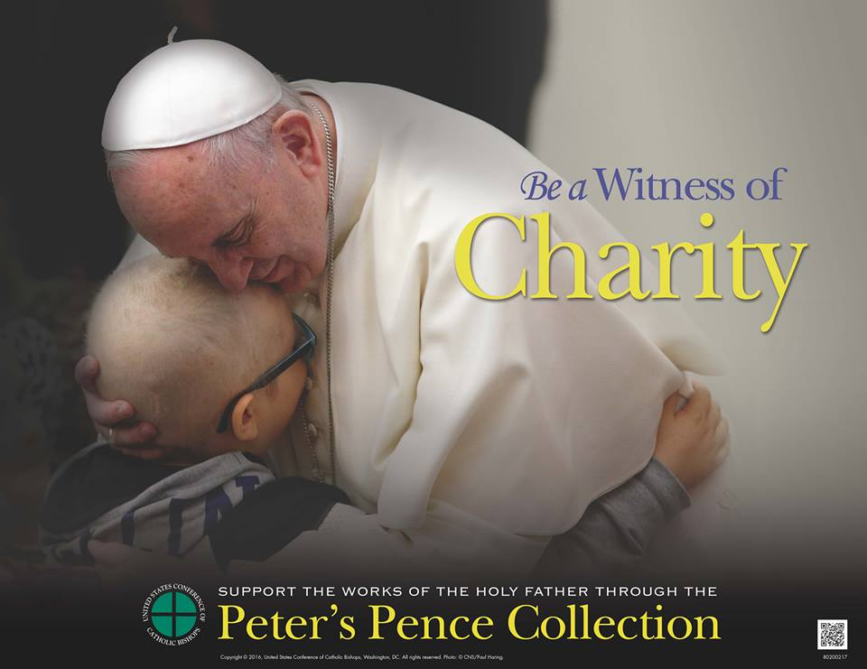 test Twitter Media - Support #PopeFrancis and his charitable works through the Peter's Pence Collection!  https://t.co/5fZYjddwVd https://t.co/80XKTCZznP