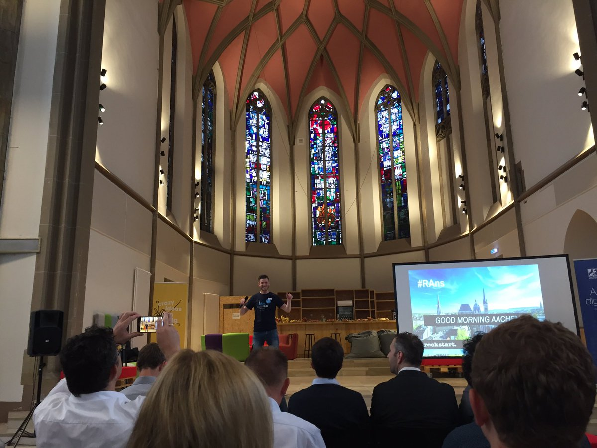 test Twitter Media - Erste Veranstaltung Rockstart Answers in der Digital Church Aachen #digitalhubaachen #RAns #entrepreuneurship https://t.co/3ZVSB2bVSQ