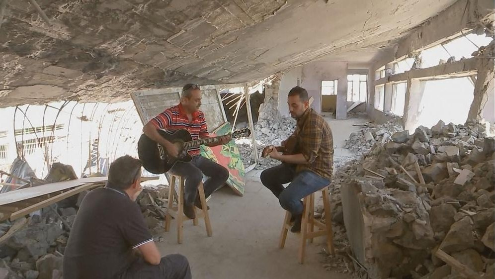 Mosul: the place where music saved lives.