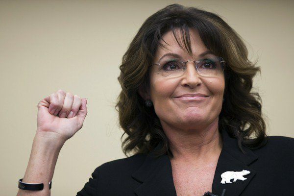 Sarah Palin sues New York Times for tying her ads to mass shooting