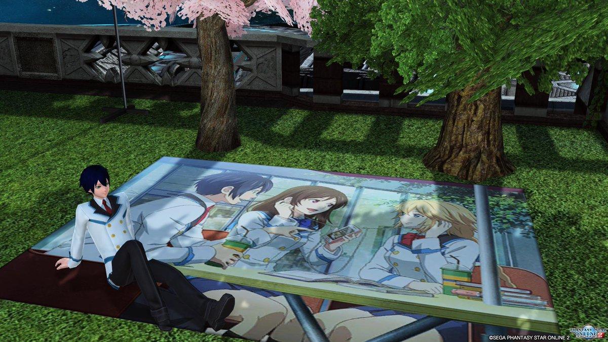 PSO2アニメのキャラソンのマット良き