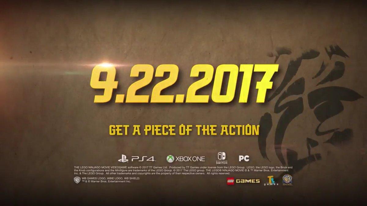 日本での発売日はまだ未定(というか日本で出るかもまだ不明)ですがニンジャゴー映画のゲームが出るまでにいちはさんがswit