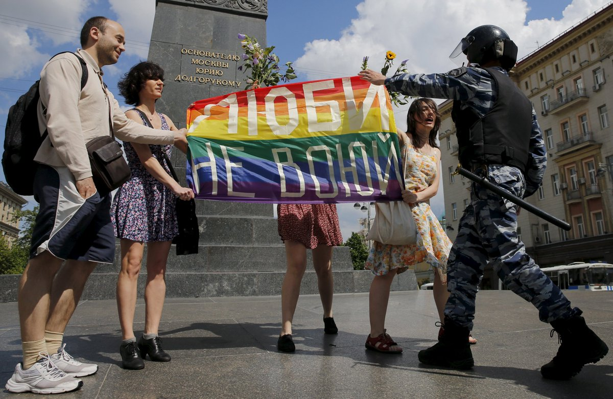 A Christian TV channel is offering LGBT Russians a one-way ticket out of the country