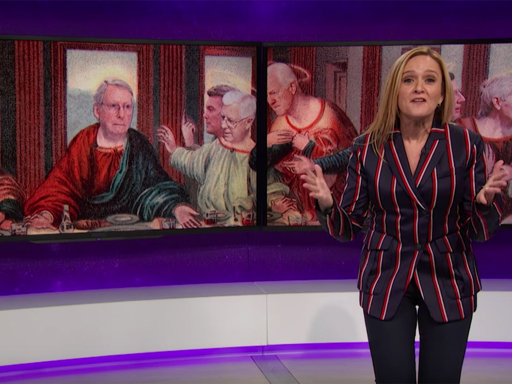 Samantha Bee believes Trump's healthcare bill is worse than Suicide Squad via @nparts