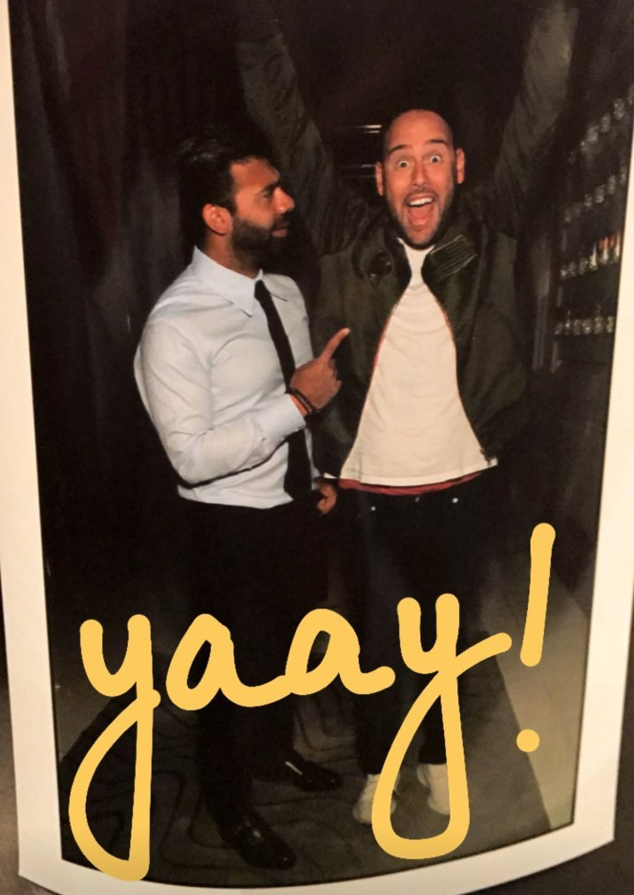 We are excited because we just saw @jamiereuben !!! ������ https://t.co/ACTnHAUAlp